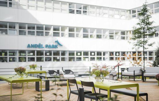 Anděl Park - interiér